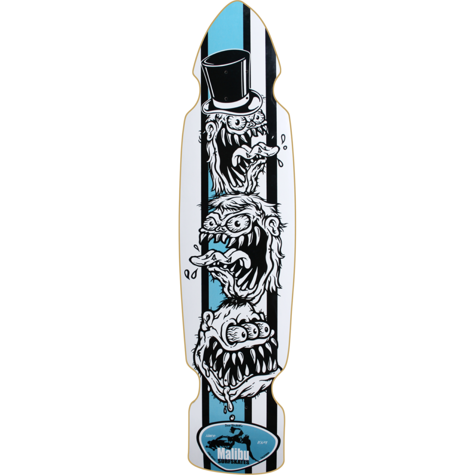MALIBU MONSTERS DECK-9.2×38/22wb