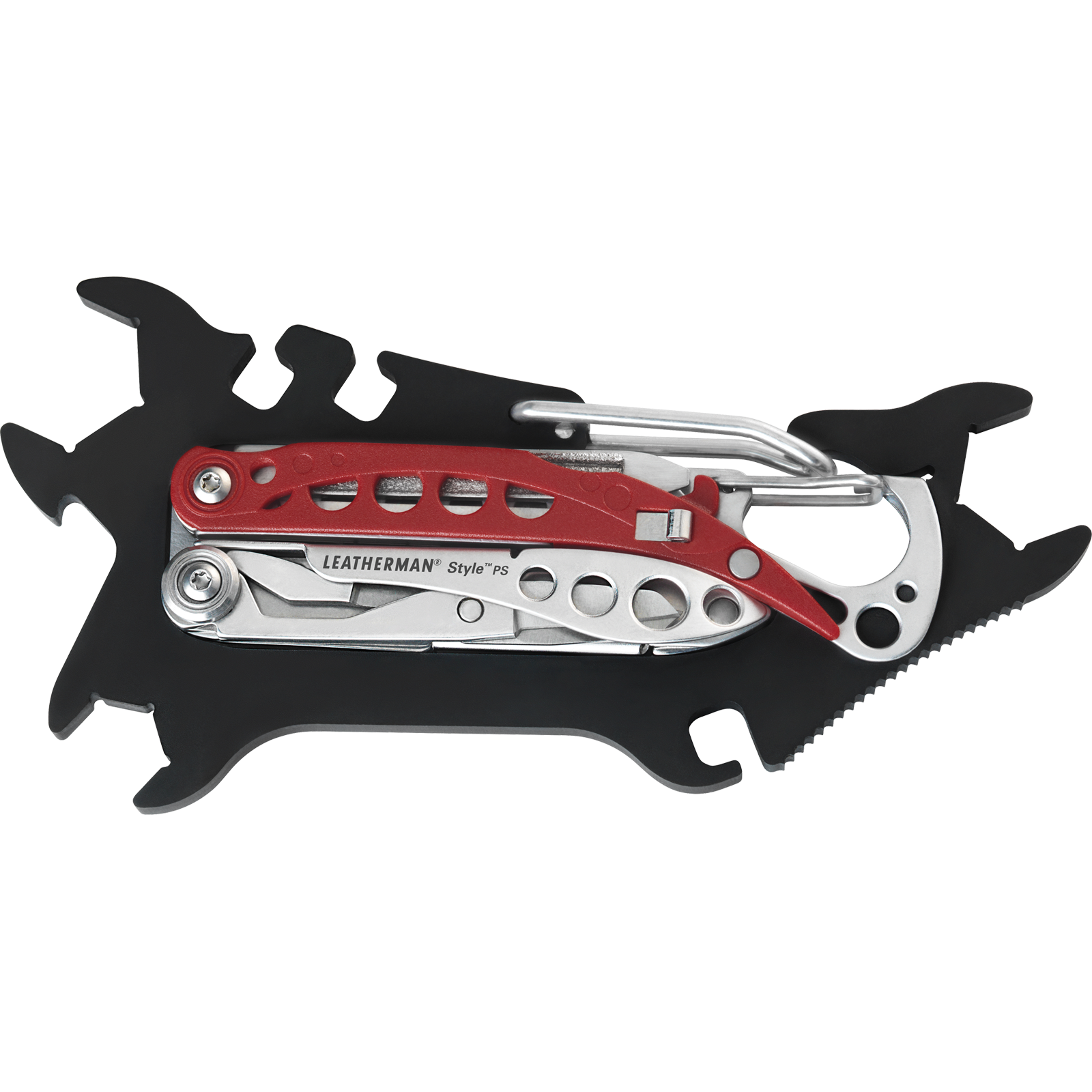 LEATHERMAN JAM & STYLE PS SKATE TOOL BLK/SIL/RED