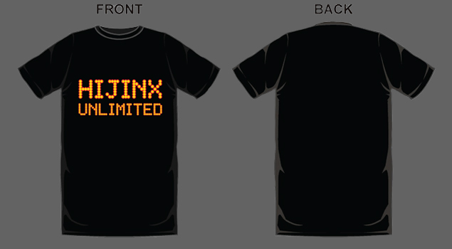 Hijinx Unlimited LED T-Shirt