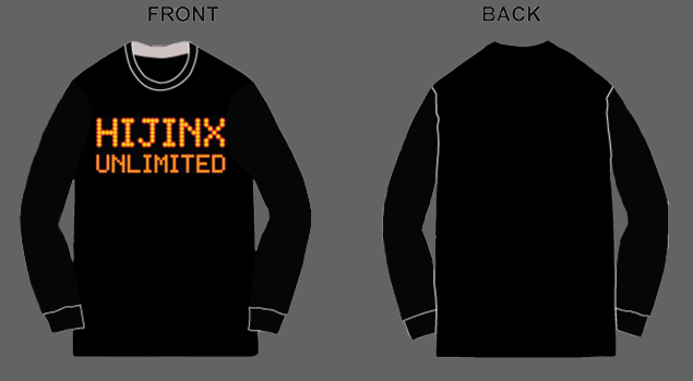 Hijinx Unlimited LED Long-Sleeve T-Shirt